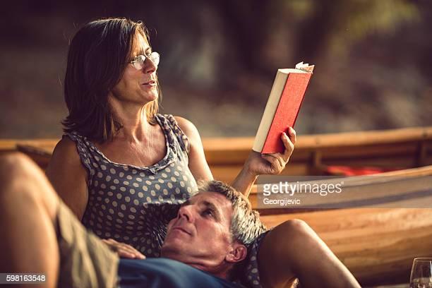 Relajación con libro