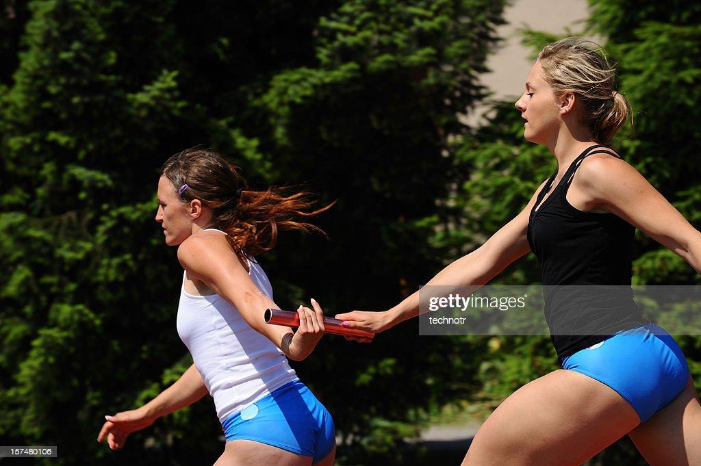 Relay race : Stock Photo