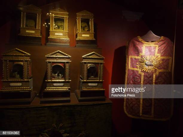 Relics and Chasuble at Monastery of Santo Domingo