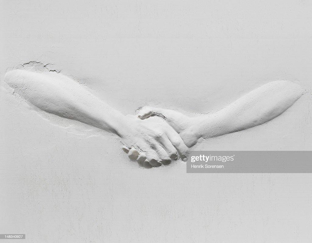 relief of handshake