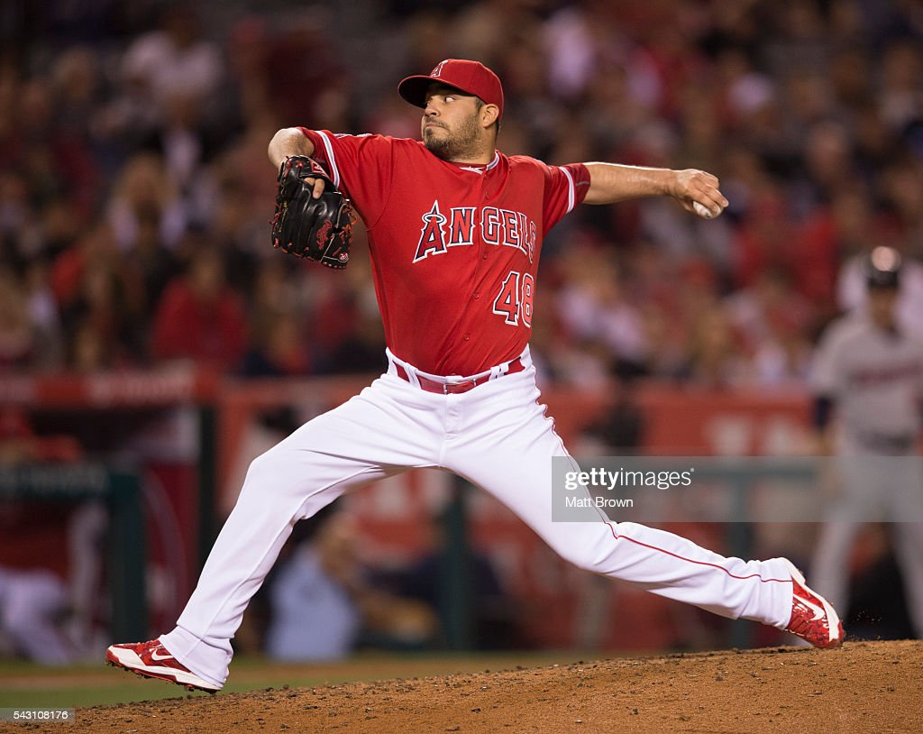 Minnesota twins v los angeles angels of anaheim getty images - Jose alvarez ...