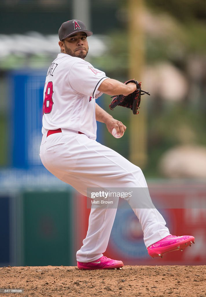 Tampa bay rays v los angeles angels of anaheim getty images - Jose alvarez ...