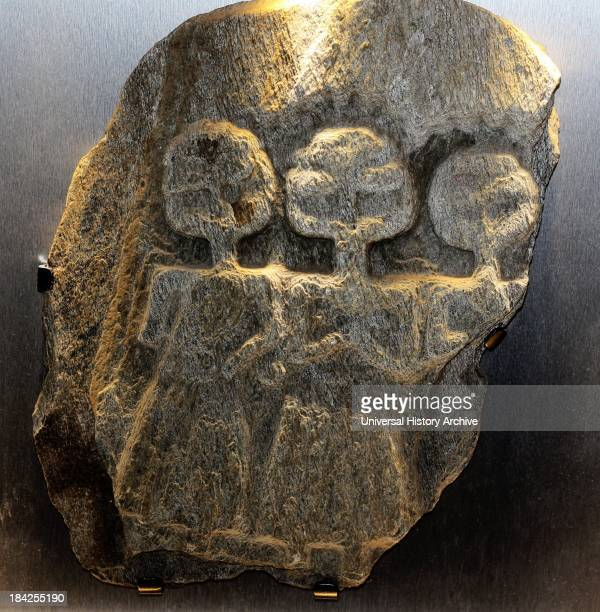 Relief work of the Three Mother Goddesses worshipped throughout the Celtic lands Were known under a number of local names This representation was...