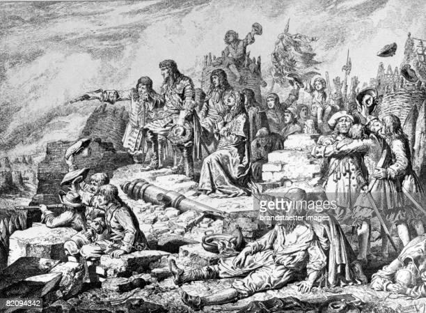 Relieved Vienna after the Turk's siege Austria 1683 [Das befreite Wien nach der Trkenbelagerung sterreich 1683]
