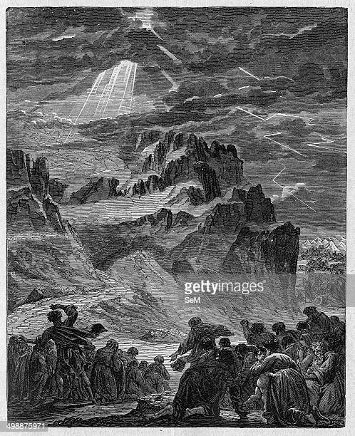 Religion The Holy Bible The Exdus According to Jewish Christian and Islamic tradition the biblical Mount Sinai was the place where Moses received the...