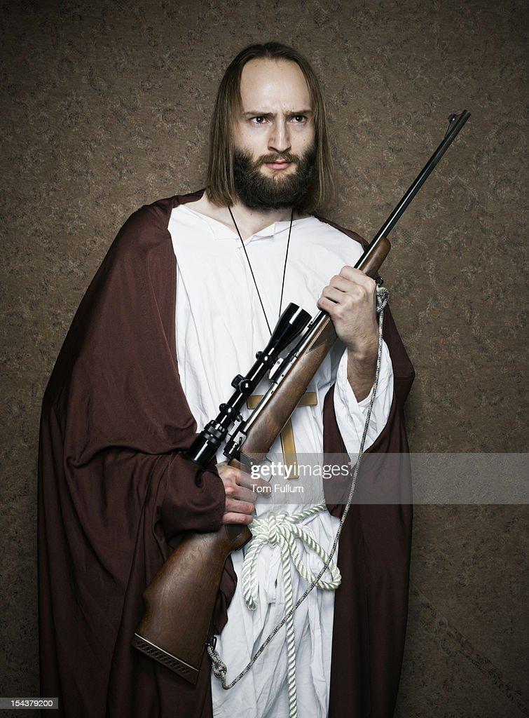 Religious man : Stock Photo