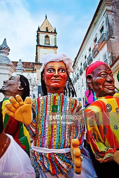 Religious, street carnival , Salvador
