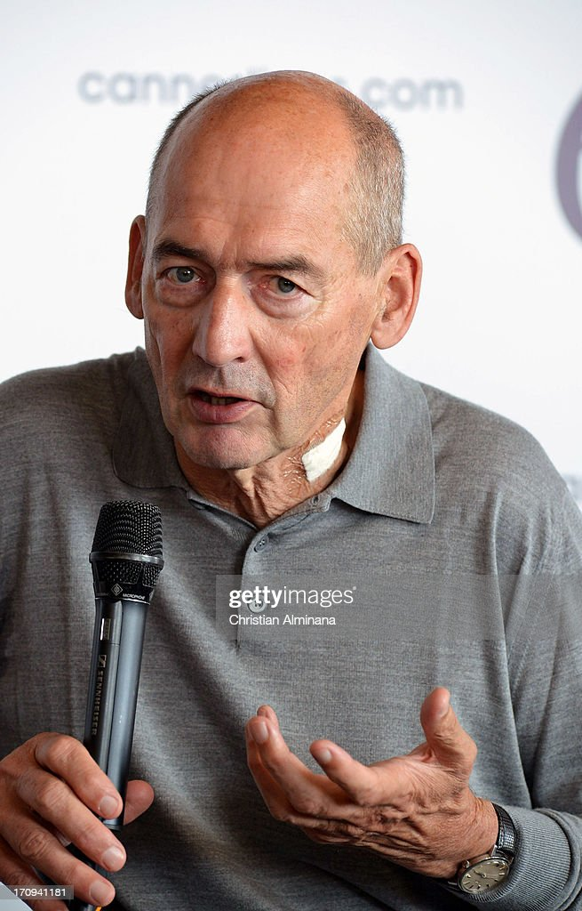Rem Koolhaas attends the Speaker's Corner during the Cannes Lions International Festival of Creativity at Palais des Festivals on June 20, 2013 in Cannes, France.