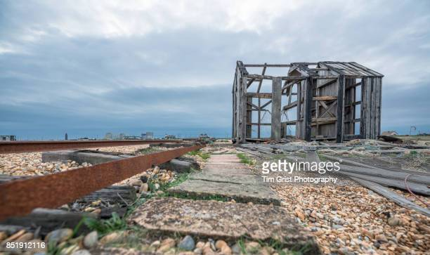 Remains of an Old Wooden Hut, Dungeness