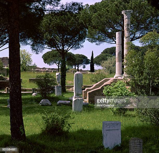 Remains of the temple of Ceres in Ostia 1st century