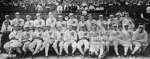 Remarkable Group Photograph of the Chicago White Sox Champions of the American League Expected to Contest for World Series Honors with Cincinnati...
