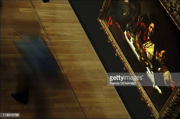 Rembrandt Exhibition Shell : Supper at emmaus stock photos and pictures getty images