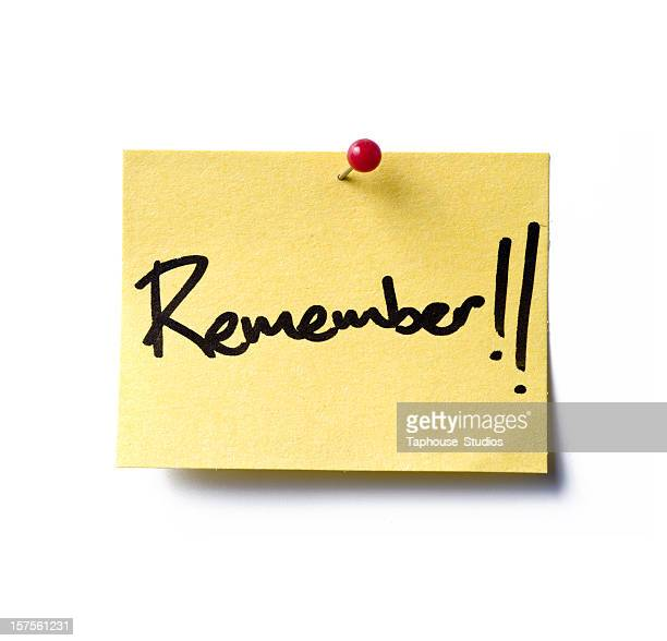 Remeber! post-it