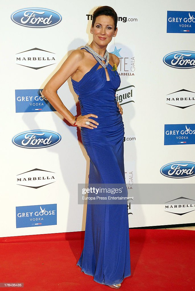 Remedios Cervantes attends the 4rd annual Starlite Charity Gala on August 10, 2013 in Marbella, Spain.