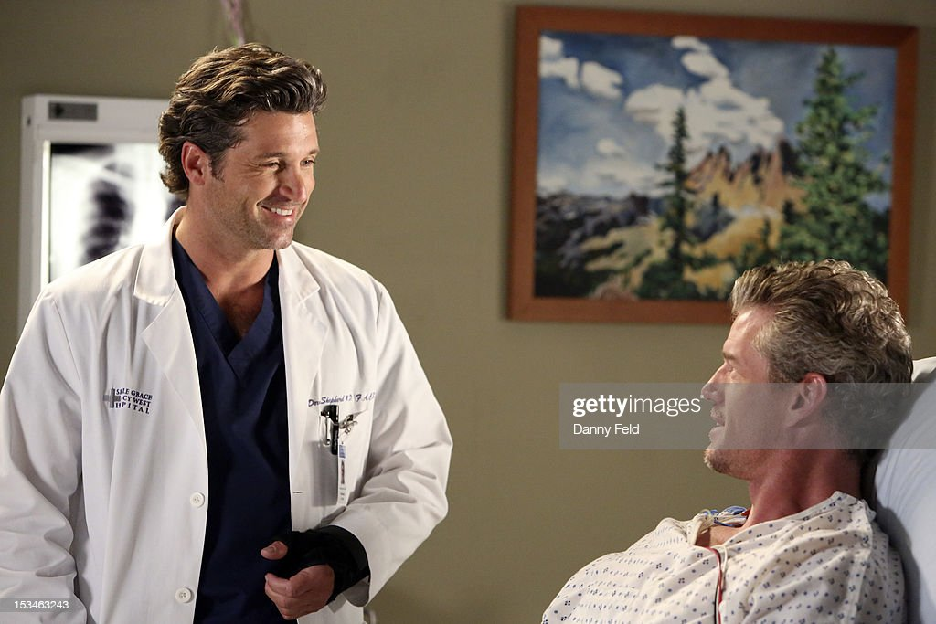 ANATOMY - 'Remember the Time' - (Photo by Danny Feld/ABC via Getty Images) PATRICK DEMPSEY, ERIC DANE