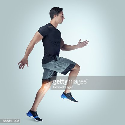 Remember your limits as you set your mark : Stock Photo