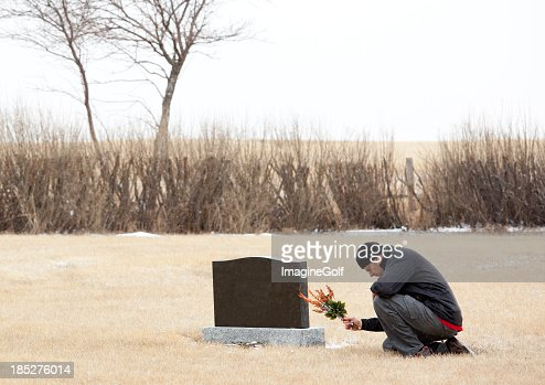 Remembering a Loved One : Stock Photo