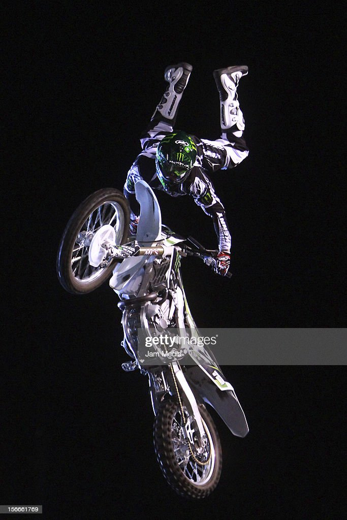 Remi Bizouard of France in action during the Xpilots - World Freestyle Motocross at Foro Sol on November 17, 2012 in Mexico City, Mexico