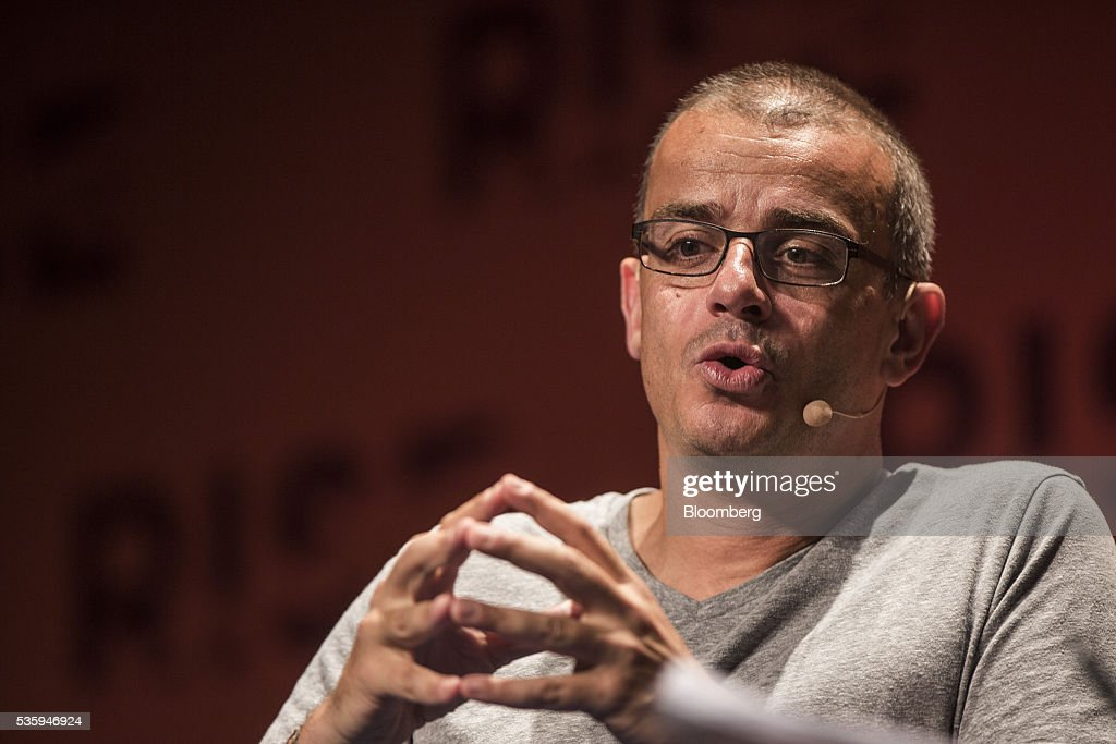 Remi El-Ouazzane, chief executive officer of Movidius Ltd., speaks during the Rise conference in Hong Kong, China, on Tuesday, May 31, 2016. The conference runs through June 2. Photographer: Justin Chin/Bloomberg via Getty Images