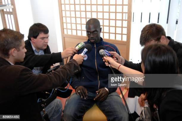 Remi GOMIS Reprise de l'entrainement de Caen Saison 2007 / 2008 Ligue 1
