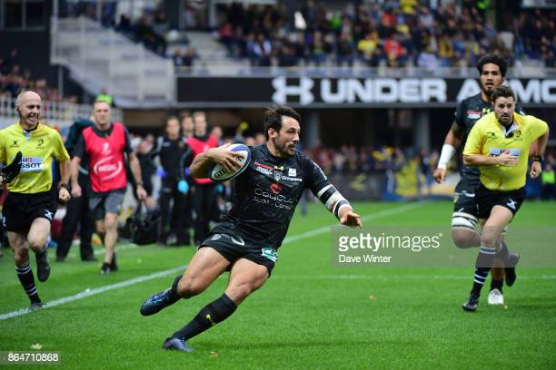 Remi Lamerat of Clermont during the European Rugby Champions Cup match between Clermont Auvergne and Northampton Saints on October 21 2017 in...
