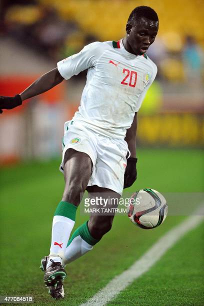 Remi Nassalan of Senegal controls the ball during the FIFA Under20 World Cup football quarterfinal match between Senegal and Uzbekistan in Wellington...