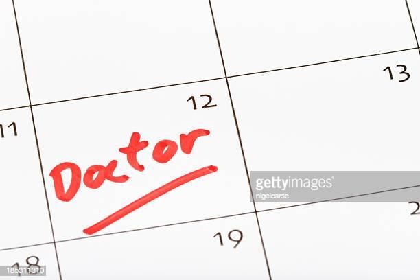 Pense-bête pour les médecins rendez-vous