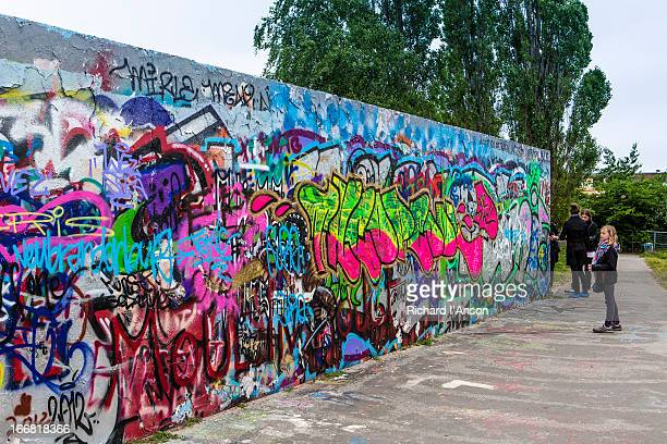 Remnant of Berlin Wall at Mauerpark
