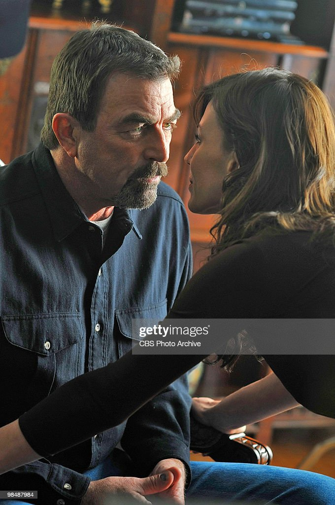 Cissy Hathaway (Krista Allen) never misses an opportunity to tell Jesse (Tom Selleck) she's interested in him, on