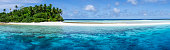 A remote atoll of the Marshall Islands