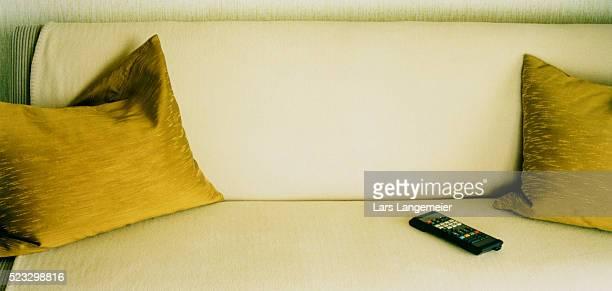 Remote Control on Sofa
