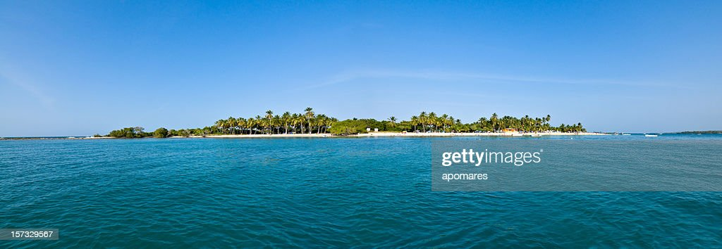 Remote  Tropical Island : Stock Photo