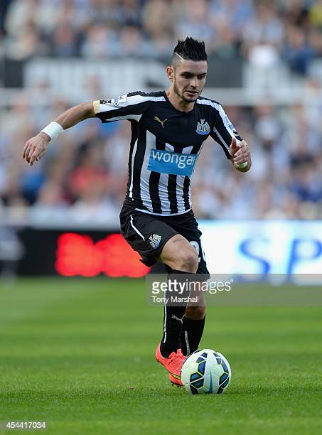 Remy Cabella of Newcastle United during the Barclays Premier League match between Newcastle United and Crystal Palace at St James' Park on August 30...