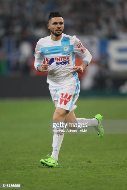 Remy Cabella of Olympique de Marseille during the French Ligue 1 match Marseille and Paris Saint Germain at Stade Velodrome on February 26 2017 in...