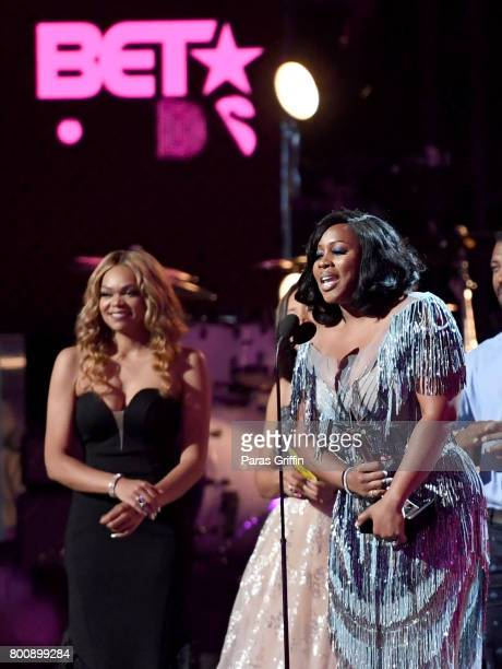 Remy Ma accepts the award for Best Female Hip Hop Artist onstage at 2017 BET Awards at Microsoft Theater on June 25 2017 in Los Angeles California