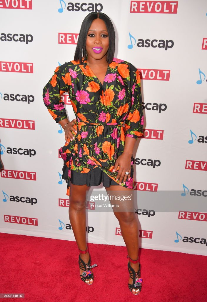 Remy Ma at ASCAP 2017 Rhythm & Soul Music Awards at the Beverly Wilshire Four Seasons Hotel on June 22, 2017 in Beverly Hills, California.