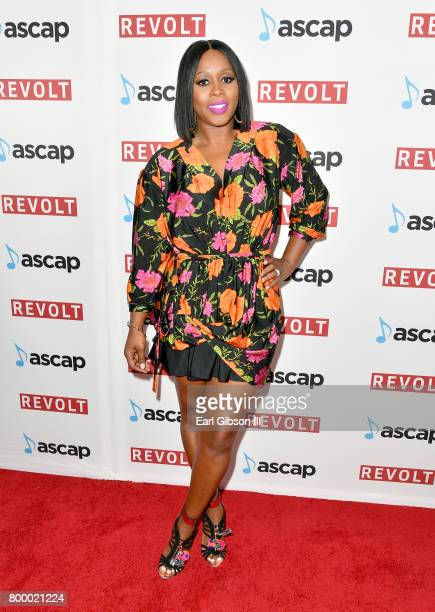Remy Ma at the ASCAP 2017 Rhythm Soul Music Awards at the Beverly Wilshire Four Seasons Hotel on June 22 2017 in Beverly Hills California