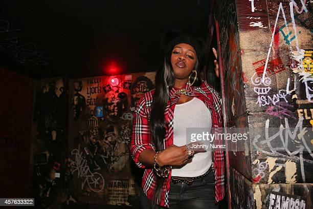 Remy Ma attends DeJ Loaf in Concert at Santos Party House on October 21 2014 in New York City