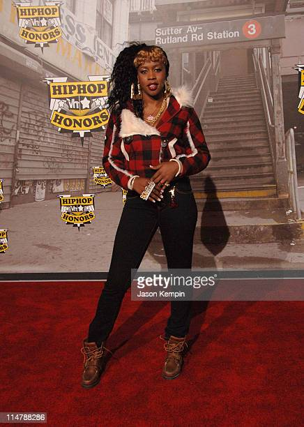 Remy Ma during 2006 VH1 Hip Hop Honors Arrivals at Hammerstein Ballroom in New York City New York United States