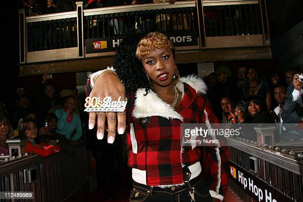 Remy Ma during 2006 VH1 Hip Hop Honors Green Room and Backstage at Hammerstein Ballroom in New York New York United States