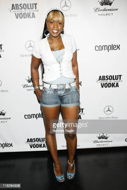 Remy Ma during Complex Magazine's 4th Anniversary Presented by Mercedes Benz at the Classic Car Club Arrivals at Classic Car Club in New York City...