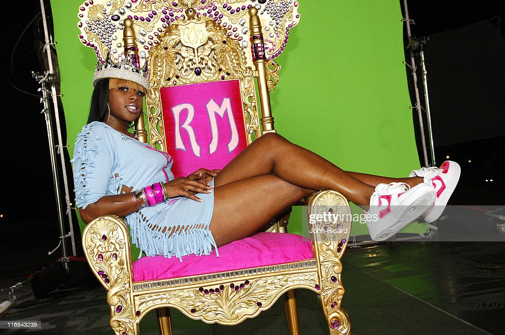"""Remy Ma on Location for """"Whuteva"""" Music Video - July 13, 2005"""