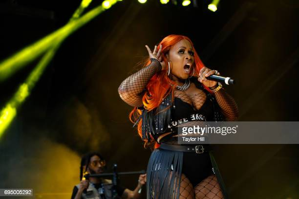 Remy Ma performs at the 2017 Hot 97 Summer Jam at MetLife Stadium on June 11 2017 in East Rutherford New Jersey