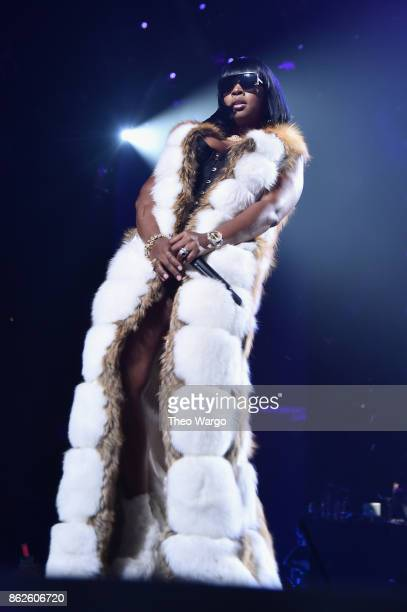 Remy Ma performs onstage during TIDAL X Brooklyn at Barclays Center of Brooklyn on October 17 2017 in New York City