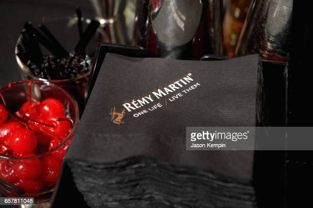 Remy Martin Culture Creators celebrate Laz Alonso's birthday at Vandal on March 25 2017 in New York City