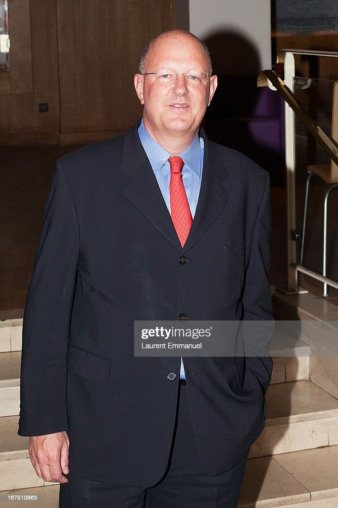 Remy Pfimlin, President of France Televisions, attends 'Alias Caracalla' Paris Premiere at Cinema l'Arlequin on April 25, 2013 in Paris, France.