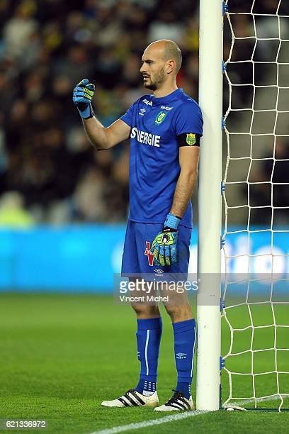 Remy Riou of Nantes during the Ligue 1 match between Fc Nantes and Toulouse Fc at Stade de la Beaujoire on November 5 2016 in Nantes France