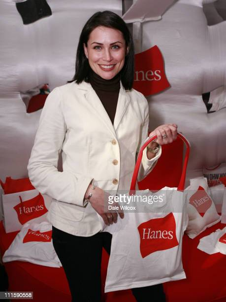 Rena Sofer at Hanes during Access Hollywood 'Stuff You Must' Lounge Presented by On 3 Productions Day 1 at Sofitel LA in Los Angeles California...
