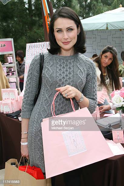 Rena Sofer during 2007 Silver Spoon Golden Globes Suite Day 1 at Private Residence in Los Angeles California United States Photo by Michael...