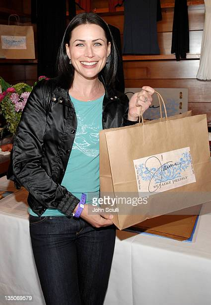 Rena Sofer during Kari Feinstein's Style Lounge Presented by Budweiser Select Day 2 at Private Residence in Los Angeles California United States